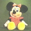 Minnie Mouse Plush Toy WDP Pre-1976 Disney