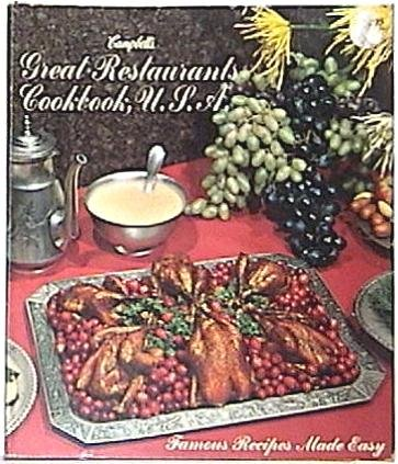 Campbell's Great Restaurants USA Cookbook