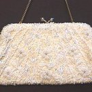 VINTAGE Hand BEADED & SEQUINNED PURSE