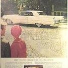COLOR Full Page CADILLAC Magazine Ad 1963