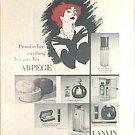 ARPEGE By LANVIN Magazine AD 1963