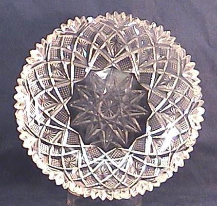 Old Cut Glass Dish