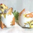Chicks Hatching Salt and Pepper Shakers, Shafford, Japan