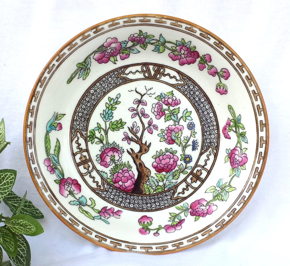Indian Tree Soup Bowl(s) Vintage Made In England Circa 1928