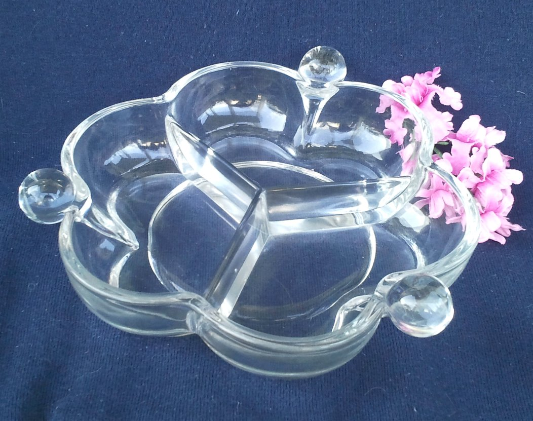 Duncan & Miller Canterbury 3-Part Relish Dish