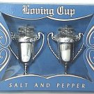Loving Cups Salt & Pepper Shakers with Box