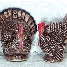 Turkeys Salt / Pepper Shakers Hand Painted