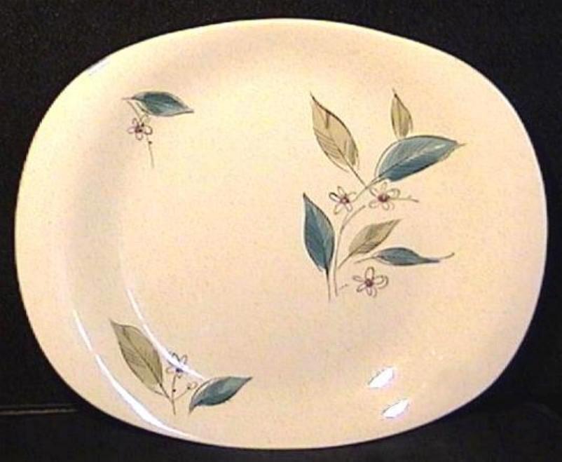 Paden City Pottery Retro Platter 'Biscayne' Circa 1956