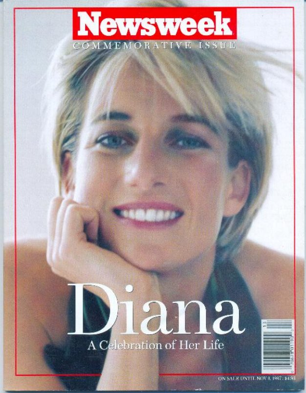 Newsweek Commemorative Issue Princess Diana 1997 Her Life