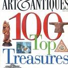 Art & Antiques Magazine March 1996 - 100 Top Treasures