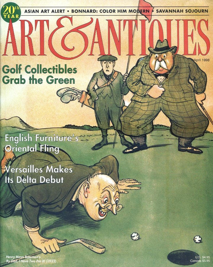 Art & Antiques Magazine April 1998 - Bonnard, Versailles