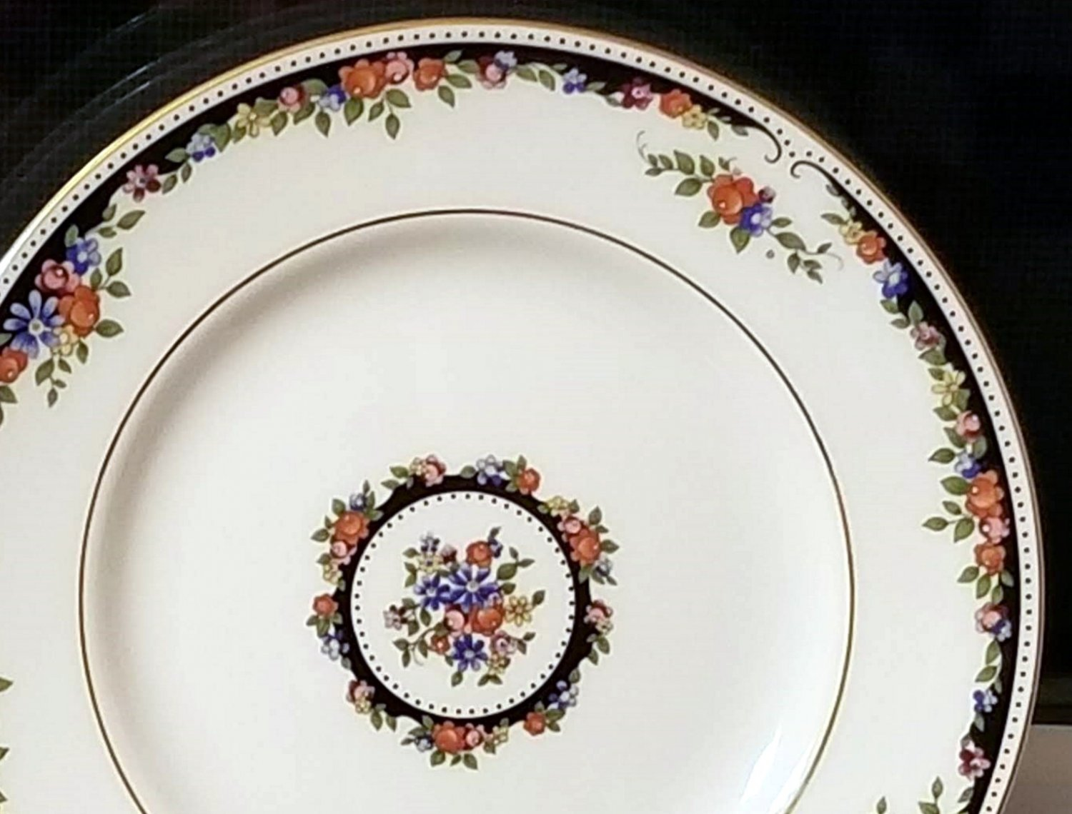 Wedgwood Osborne Bread & Butter Plate Fine Bone China Discontinued Pattern