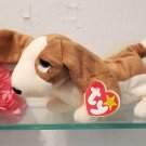 TY Tracker Basset Hound Beanie Baby Retired New MWMT