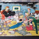 Blondie and Dagwood 1949 Jigsaw Puzzle Two in One - Hidden Animals