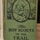 Book Boy Scouts on the Trail Saalfield Publishing 1921