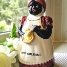 Souvenir Mammy Bell New Orleans Black Americana - Free Ship in U.S.