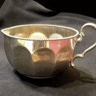 Faceted 6 Oz. Creamer with Beaded Rim by Manning Bowman C. 1900