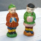 Chinese Couple Salt and Pepper Shakers in Native Dress