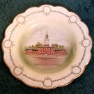 Independence Hall Philadelphia Plate Johnson Bros England