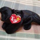 Blackie the Bear TY Beanie Baby Retired MWMT