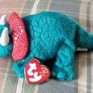 TY Hornsly the Dinosaur Beanie Baby Born 2000 Retired
