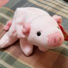 TY Squealer Beanie Baby Born 1993 with PVC Pellets Retired