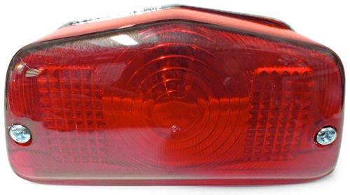 For 1947 1951 British Motorcycles Ariel Tail Light Lamp