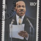 Djibouti 1983 AIRMAIL - Scott C180 CTO - Martin Luther King  (G-734)