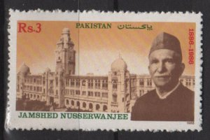 Pakistan 1988  - Scott  691 MH - Jamshed Nusserwanjee Mehta, Lesgislative assembly (6-577)