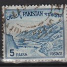 PAKISTAN 1961 - Scott 132 used - 5p, Khyber pass  (6-589)