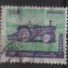 Pakistan 1978/81 - Scott  466 used - 50p, tractor (6-606)