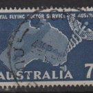 Australia 1957  - Scott  305  used - 7p, Royal flying Doctor service (T-711)