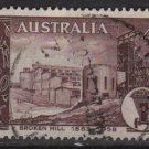 Australia 1958  - Scott  311  used - 4p, Broken Hill mining field (T-714)