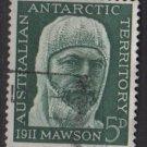 Australian Antarctic Territory  1961  - Scott  L7  used -  5p, Sir Douglas Lawson (6-684)