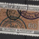 Germany 1983 -  Scott 1407  used - 60pf,  Customs Union (7-8)