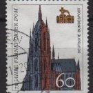 Germany 1989 - Scott 1586 used - 60pf, Frankfurt Cathedral 750th Anniv (7-33)