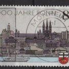 Germany 1989 - Scott 1568  used - 80pf, Bonn Bimillennium (E-278)