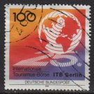GERMANY 1991 - Scott 1625 used - 100pf, 25th Intl Tourism Exchange, Berlin (7-34)