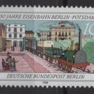 Berlin 1988 -  Scott 9N573 MNH  - 10 pf,  Berlin Postdam Railway 150th Anniv (7-105)