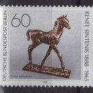 Berlin 1988 -  Scott 9N570 MNH  - 60 pf,  Bronze sculpture by Renee Sintenis (7-111)