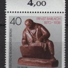 Berlin 1988 -  Scott 9N574  MNH - 40 pf,  The collector by Ernst Barlach (7-115)