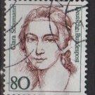 Germany 1986 - Scott 1483 used - 80pf, Famous Women, Clara Schumann  (7-130)
