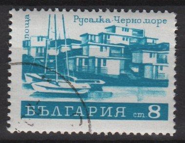 Bulgaria 1971 - Scott  1938 CTO  - 8s, Hotel (3-651)