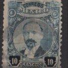 Mexico 1917 - Scott 623 used - 10c, F. I. Madero (Perf. 12)  (8-255)