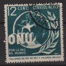 Mexico 1946 - Scott 815 used - 12c, United nations   (8-288)