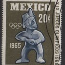 Mexico 1965 - Scott  965 used - 20c, 19th Olympic Games, Mexico   (8-295)