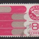 Mexico 1975/87 - Scott 1133a  used  - 80p,  Export emblem & books (8-325)