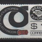 Mexico 1975/87 - Scott 1116 used   - 1p,  Export emblem &  electrical conductors (8-307)