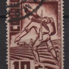 Mexico 1938  -  Scott 738 used - 10c, plan of Guadalupe. Revolutionary soldier (2-302)