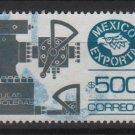 Mexico  1987/88 - Scott  1496 used  - 500p,  export emblem & Petroleum valves (7-463)